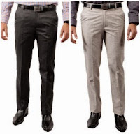 Buy Men's Trouser and Chinos at flat 50% Off + Extra 25% Cash Back Rs. 261 only at Paytm.