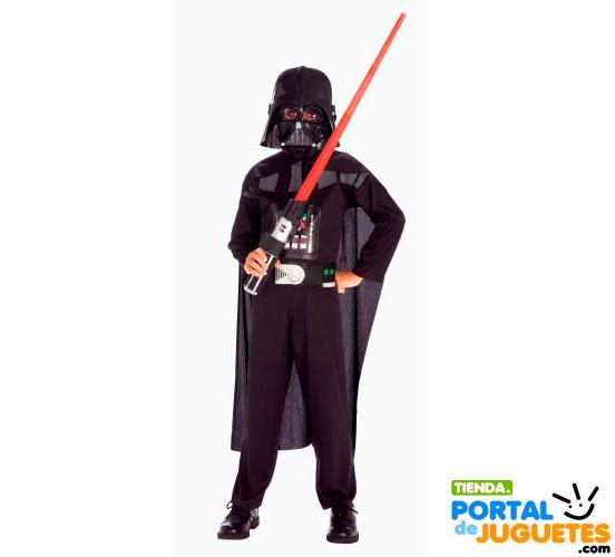 disfraz darth vader star wars para niño