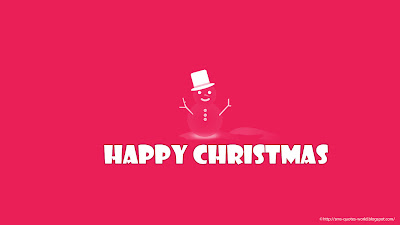 Happy Merry Christmas, New Year Greetings Wallpapers