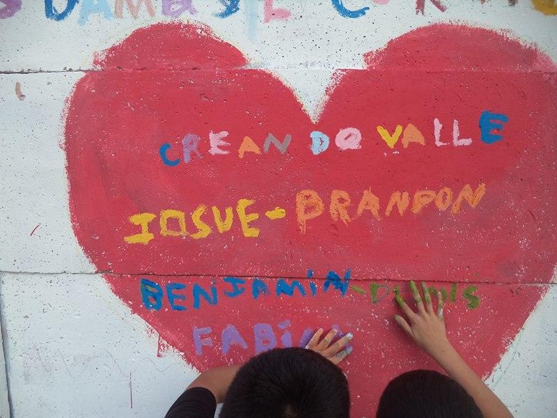 Nosotros damos el corazón