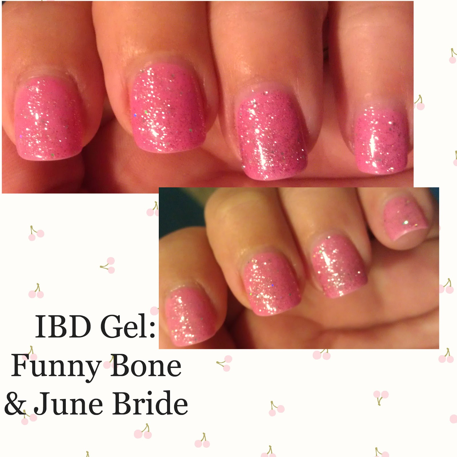 The Manicured Monkey: IBD: Funny Bone and June Bride (gels)