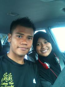 Megart Rahim and Puteri Nur Adila