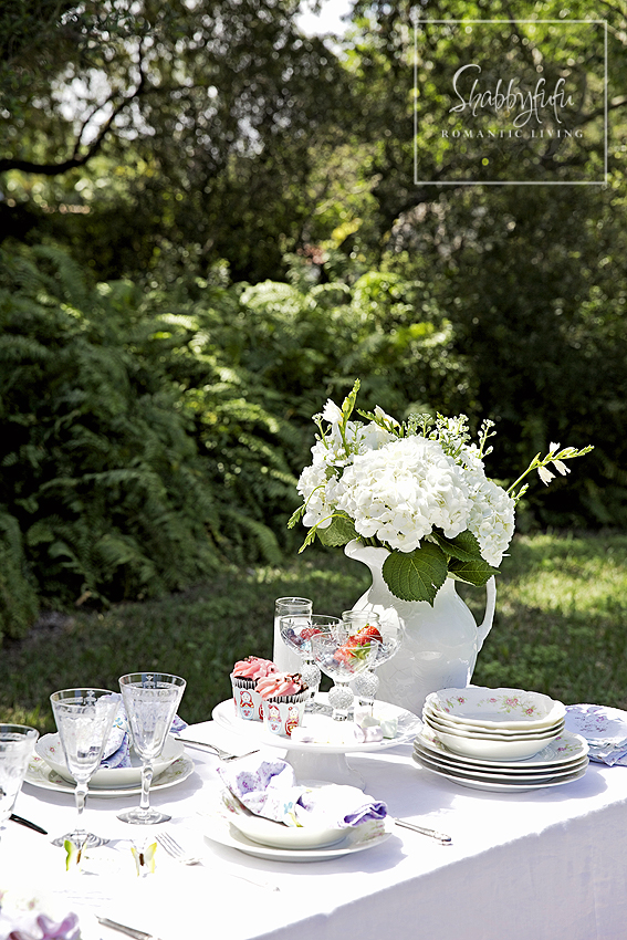 Spring Al Fresco Table Setting Ideas & Spring Al Fresco Table Setting Ideas - shabbyfufu.com