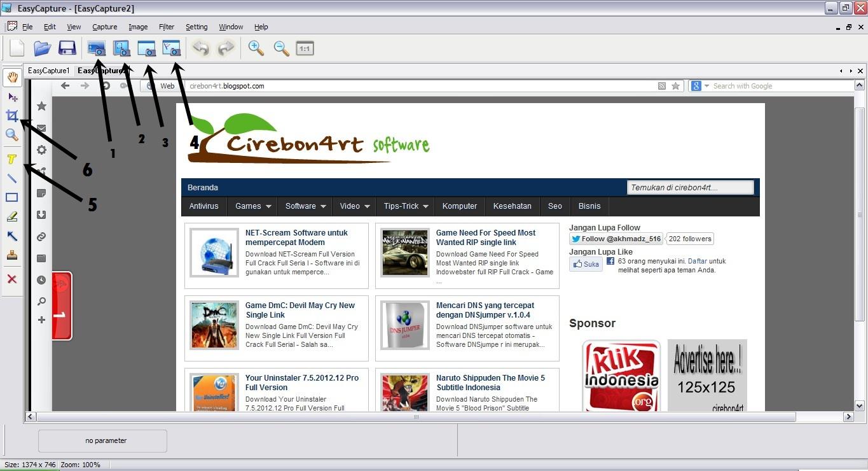 Screenshot easycapture