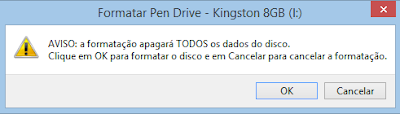 Como formatar um pen drive no Windows 8