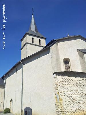 l'église saint Julien de serres castet