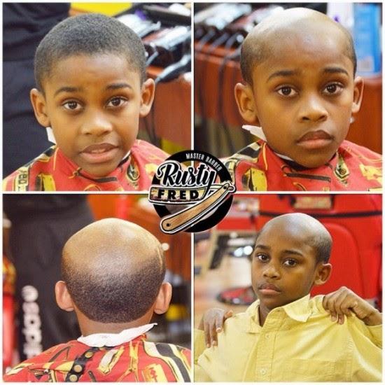 صورة تبين نوع قصة شعر لأطفال
