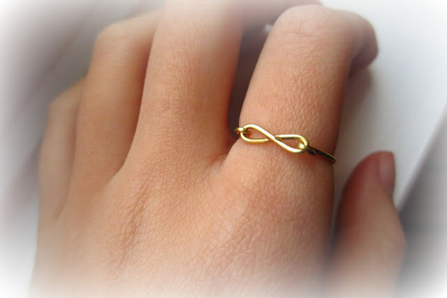 diy infinity wire ring
