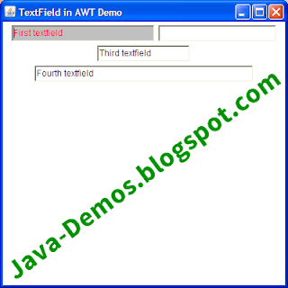 4 Ways to Create an AWT TextField in Java