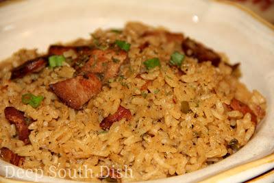 Deep South Dish: Pork and Sausage Jambalaya