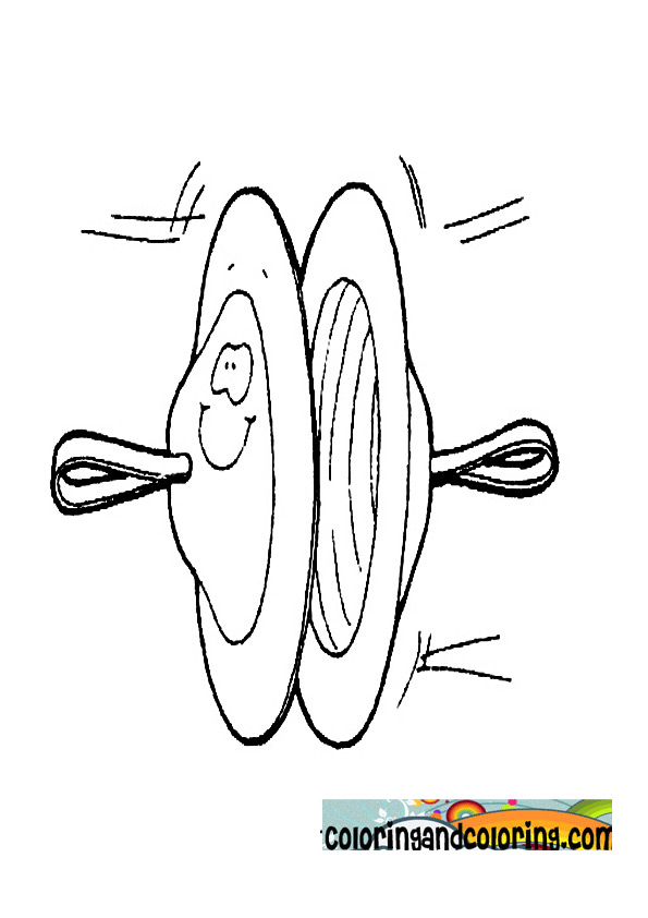 cymbal coloring page coloring pages
