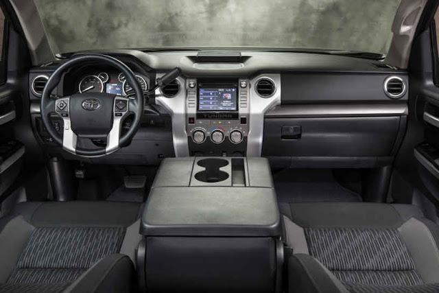 2015 New Toyota Tundra Adventure interior dashboard