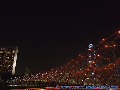 The Helix Bridge Marina Bay