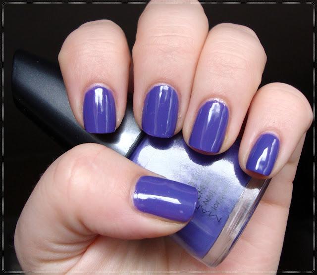 manhattan purple nail polish