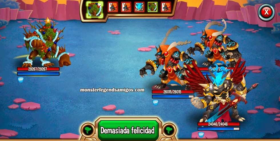 imagen de las batallas de la mazmorra territorio nebotus de monster legends