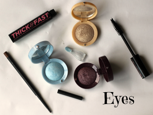 2014, something like nicola, beauty favourites, soap and glory, thick and fast, mascara, mac, eye brow, bourjois, little round pots, intense, shade 01, shade 17, shade 13