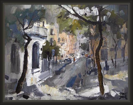 Venta pintura pintor ernest descals barcelona poble sec - Cuadros baratos barcelona ...