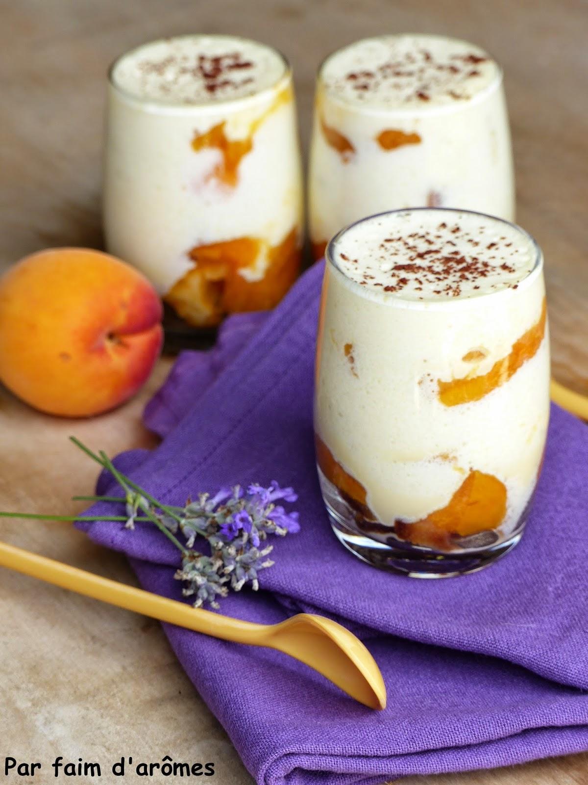 Tiramisu Abricots lavande
