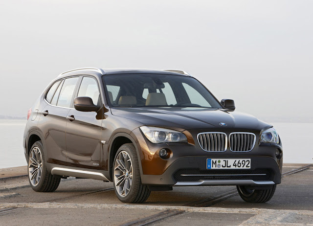 Side image of BMW X1