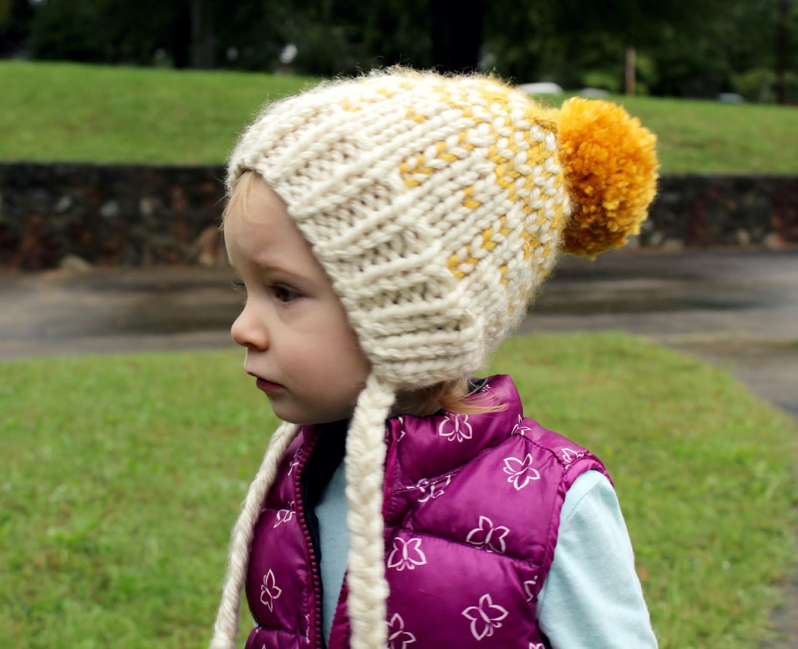 hoping for rocketships: chunky knit hat.