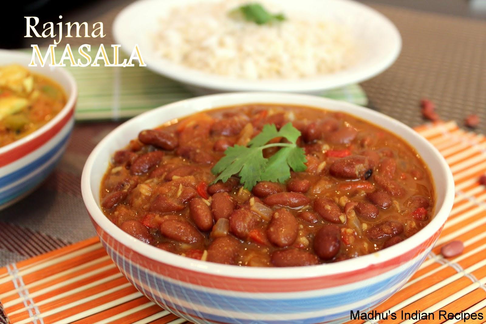 Rajma Masala | Indian Curry Recipes