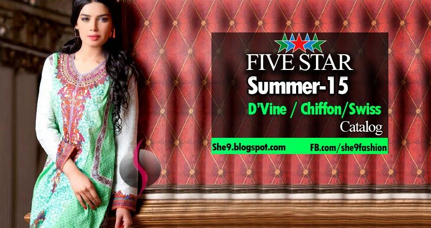 Five Style Summer 2015 [Voile-Chiffon-D-Vine]