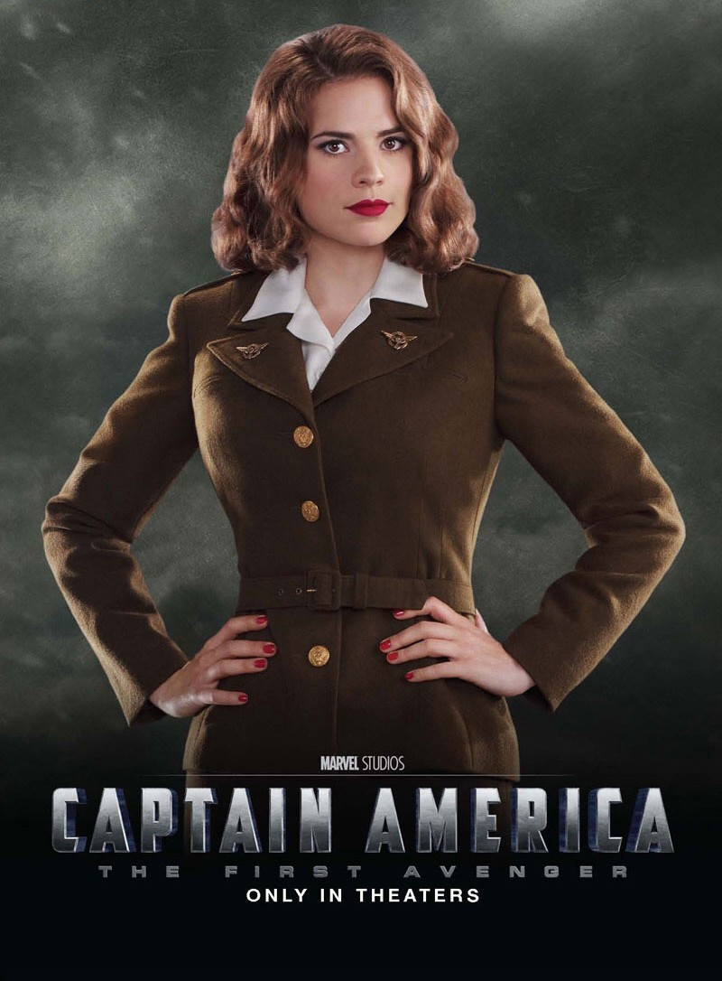 Hayley Atwell portray as Peggy Carter in Captain America MovieHayley Atwell Peggy Carter