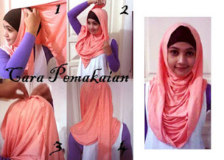 Butik Aira is here for you: tutorial pashmina kaos