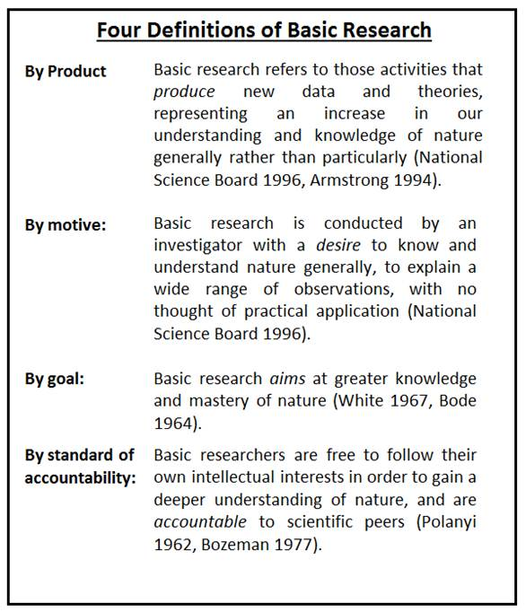 what is basic research - Basic Essay Examples