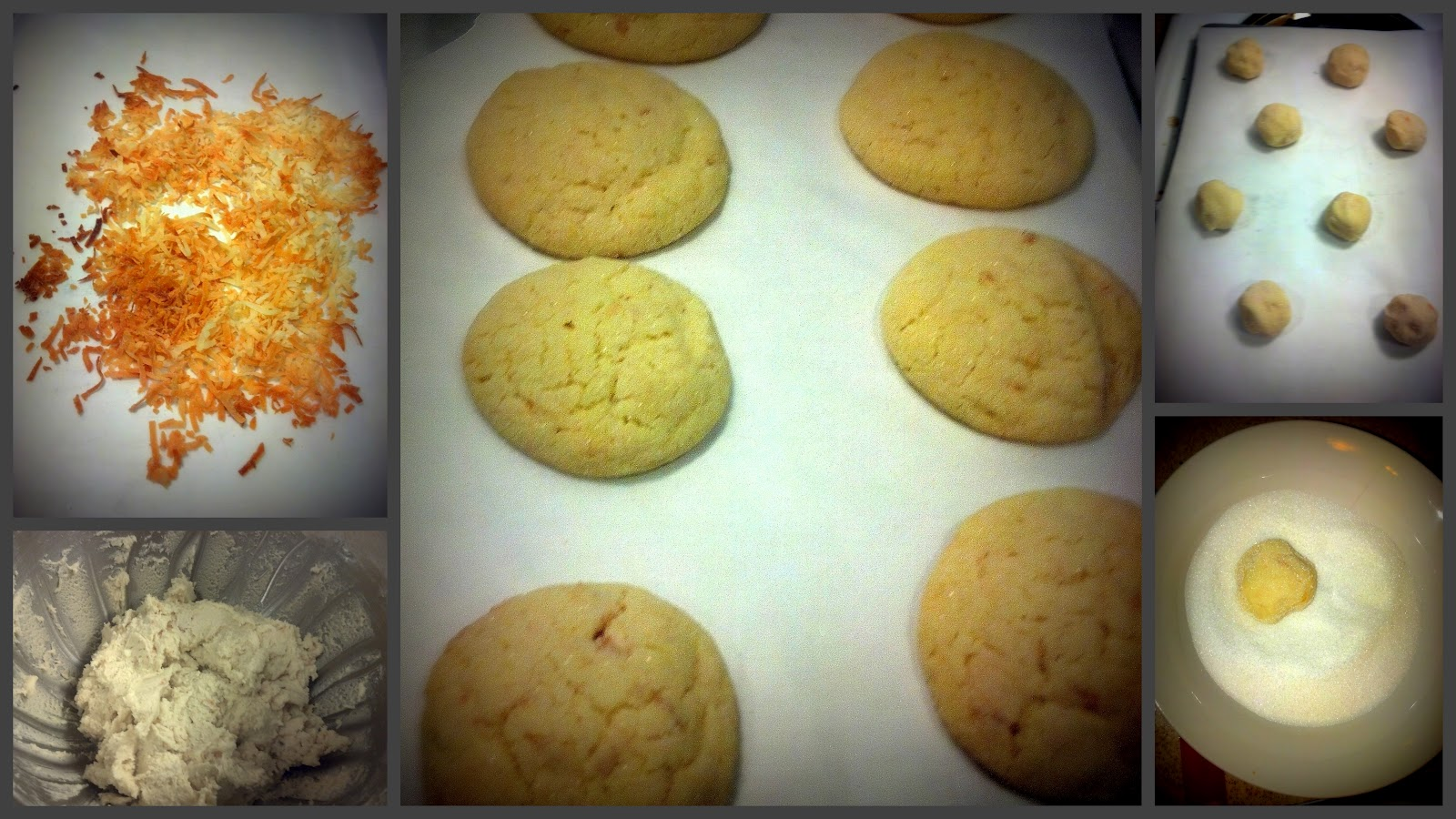 Sugar-Coated Sunshine: Chewy Coconut Lime Sugar Cookies