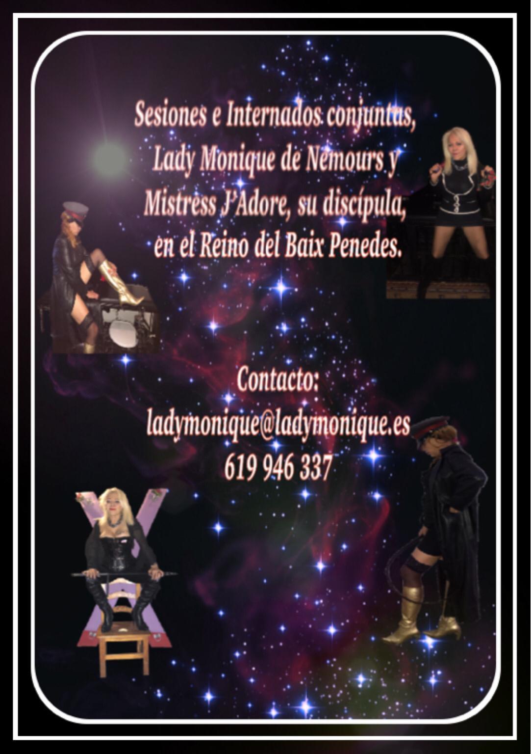 LADY MONIQUE DE NEMOURS