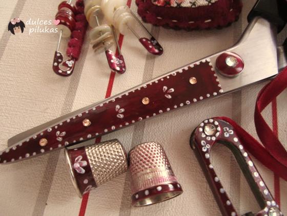 Dulces pilukas decorar accesorios de costura tutorial - Accesorios para decorar ...
