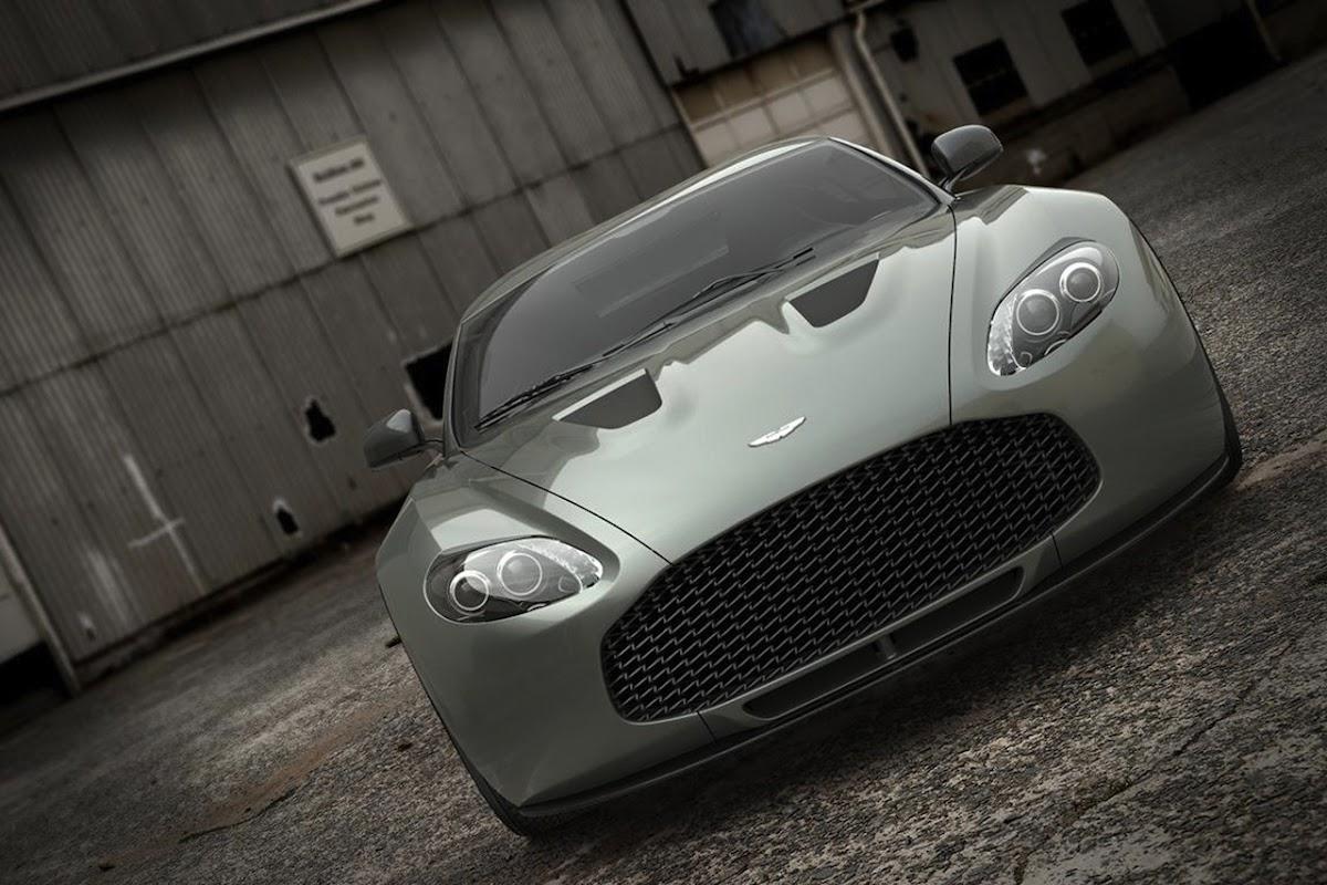 Aston Martin V12 Zagato road-going