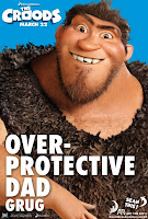 The Croods Overprotective Dad Poster