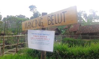 mancing belut di floating market lembang kampung leuit