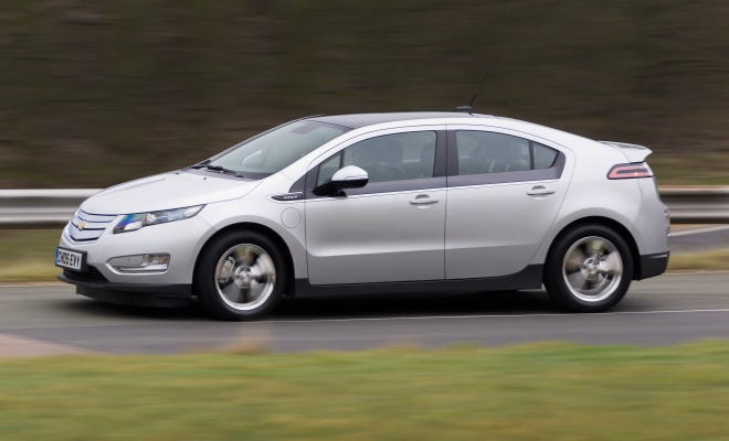 Chevrolet Volt driving