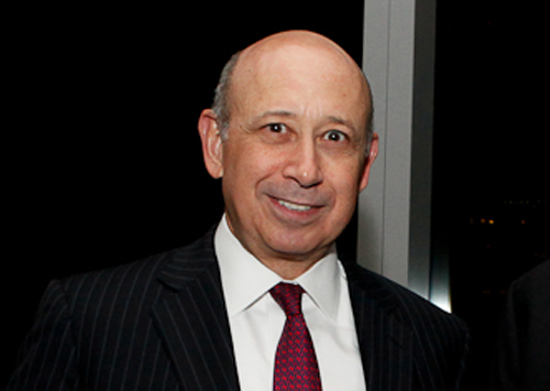 A world-class criminal who will never spend a day in jail. Lloyd Blankfein, chairman and chief executive of Goldman Sachs. (Photo by Financial Times)