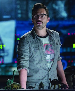 Jake Johnson in Jurassic World