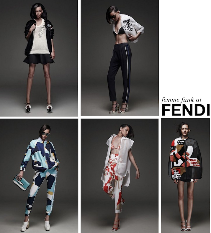 BINX WALTON FOR FENDI RESORT 2015