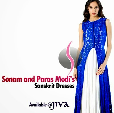 Sonam and Paras Modi Sanskrit Traditional Dresses