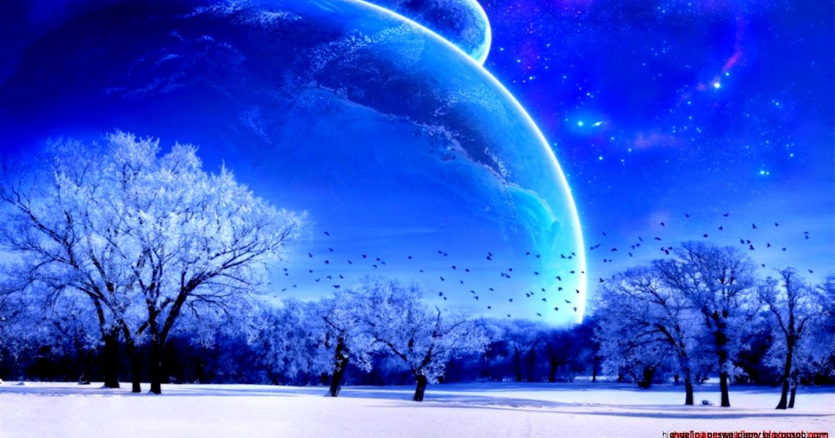 Dreamy fantasy outer space scene anime wallpaper high for Outer space scene