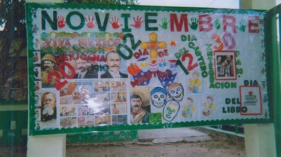 Mural escolar imagui for Contenido del periodico mural