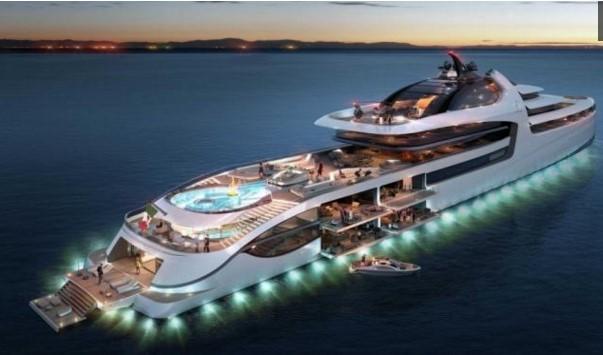Kapal Pesiar Termahal Di Dunia Proyek Italia Sea Group