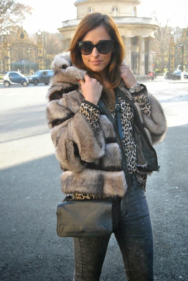 Style shouts paris for Ecopelliccia zalando