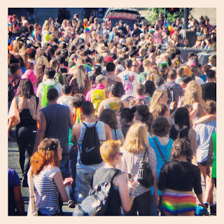 The Dyke March for San Francisco Pride 2013 hits the streets