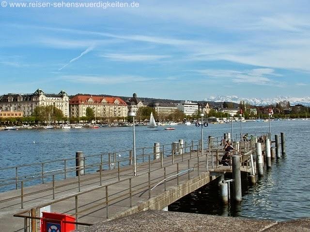 Zürich See und Alpen