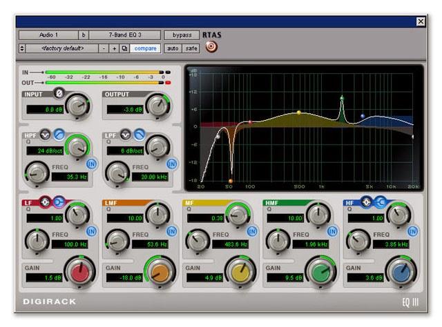 Pro Tools Digirack EQ 3 image
