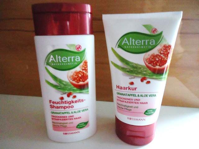 Alterra - Maska nawilżająca Granat i Aloes