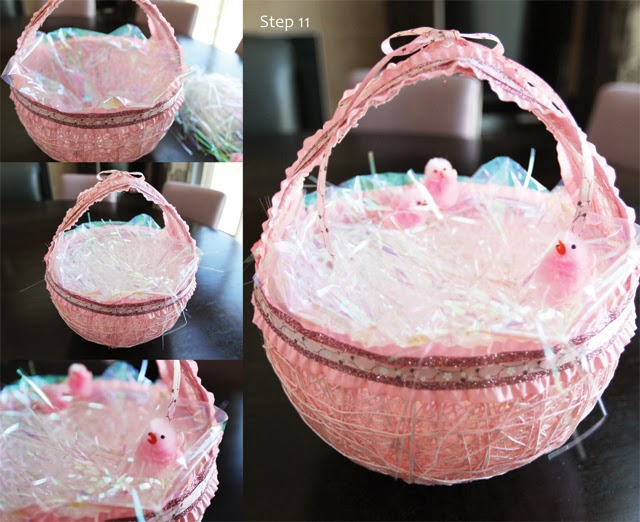 DIY East Egg String Basket