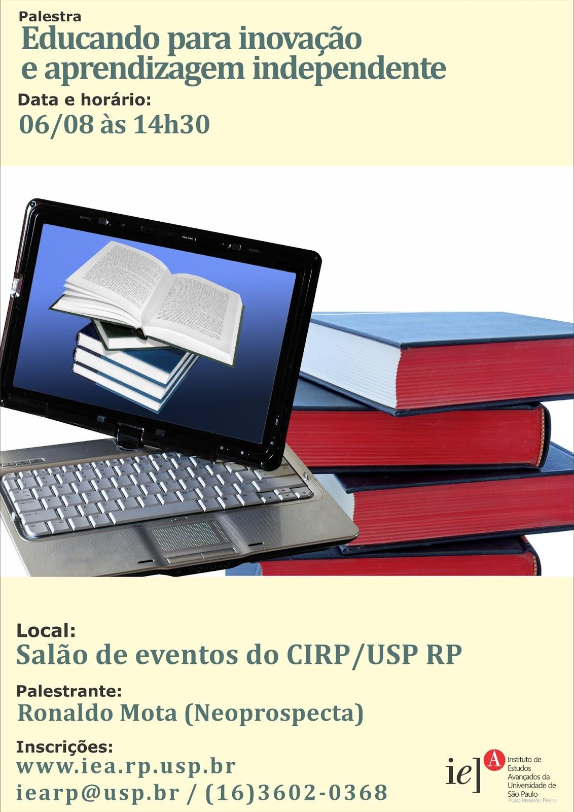 Revista Instituto de Estudos Avançados - Polo Ribeirão Preto - Magazine cover